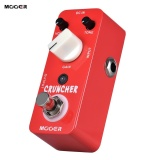 Toko Mooer Cruncher High Gain Distortion Guitar Effect Pedal True Bypass Full Metal Shell Intl Lengkap Tiongkok