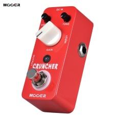 Jual Beli Mooer Cruncher High Gain Distortion Guitar Effect Pedal True Bypass Full Metal Shell Intl