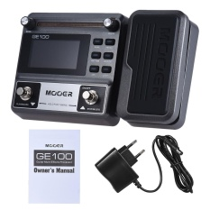 Jual Mooer Ge100 Guitar Multi Effects Processor Effect Pedal With Loop Recording 180 Seconds Tuning Tap Tempo Rhythm Setting Scale Chord Lesson Functions Intl Murah Di Tiongkok