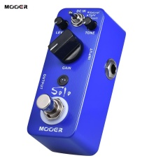 Beli Mooer Solo Distorsi Gitar Efek Pedal High Gain True Bypass Full Metal Shell Outdoorfree Intl Dengan Kartu Kredit