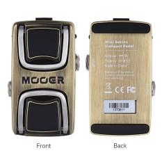 Spesifikasi Mooer The Wahter Wah Guitar Effect Pedal Pressure Sensing Switch Full Metal Shell Intl Online
