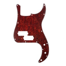 Toko Musiclily P Bass Pickguard Scratch Plate Pick Guards For Pb Precision Bass Guitar 4Ply Red Tortoise Intl Termurah Indonesia