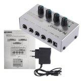 Spesifikasi Mx400 Ultra Compact 4 Channels Line Mono Audio Mixer Dengan Kebisingan Rendah Bebas Adapter Daya Diluar Ruangan Paling Bagus