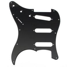 Toko Jual Baru Pickguard Scratchplate 3 Lapis 11 Lubang Untuk Fender Strat Stratocaster Gitar Internasional
