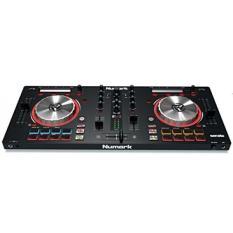 Numark Mixtrack Pro 3  USB DJ Controller dengan Bantalan Pemicu & Serato DJ Intro Download (Termasuk Suara Built-In Card)