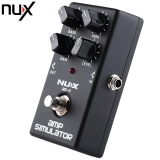Review Nux As 4 Amp Simulator Guitar Effect Pedal True Bypass Design Black Intl Terbaru