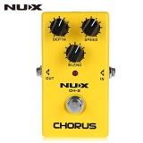 Spek Nux Ch 3 Chorus Guitar Effect Pedal True Bypass Desain Paduan Aluminium Perumahan Intl Tiongkok