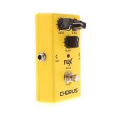 Harga Nux Ch 3 Paduan Suara Efek Pedal Gitar Listrik Rendah Kebisingan Bbd Kualitas Tinggi Benar Memotong Kuning Nux Ori