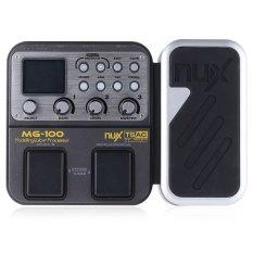 NUX MG-100 Multi-Fungsional Pemodelan Prosesor Gitar Efek Pedal-Intl