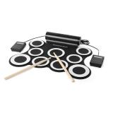 Jual Beli Online Oh Roll Up Drum Elektronik Set Kit 3009 9 Pads Built In Speaker Untuk Latihan Hitam Intl