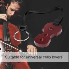 OSMAN Tahan Lama Praktis Kayu Solid Cello Anti-Slip Anti-Selip Penghenti Perangkat Mat