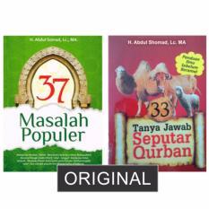PAKET 2 BUKU USTADZ ABDUL SOMAD (37 Masalah Populer + 33 Tanya Jawab Seputar Qurban)