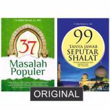 Beli Paket 2 Buku Ustadz Abdul Somad 37 Masalah Populer 99 Tanya Jawab Seputar Shalat Buku Agama Dengan Harga Terjangkau