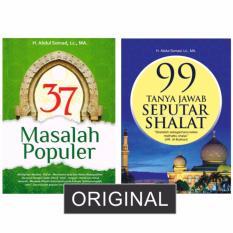 Paket 2 Buku Ustadz Abdul Somad 37 Masalah Populer 99 Tanya Jawab Seputar Shalat Diskon Jawa Barat