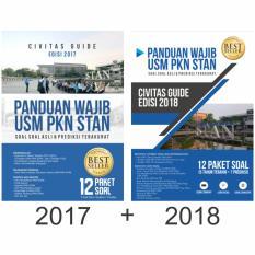 Toko Paket Buku Panduan Wajib Usm Pkn Stan 2017 2018 Civitas Guide Di Banten