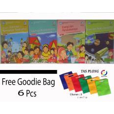 Paket Buku Tematik Kelas 3 Tema 5 6 7 8 Free Goodiebag Buku Pendidikan Diskon 30