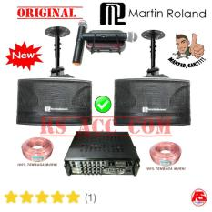 Paket Speaker Sound Karaoke Room Martin Roland Original Resmi Garansi