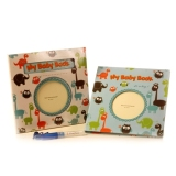 Jual Peaches Buku Jurnal Bayi Bahasa Inggris Biru Branded Original