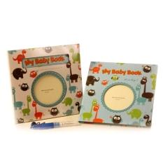 Toko Peaches Buku Jurnal Bayi Bahasa Inggris Biru Peaches Indonesia