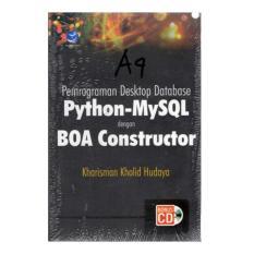 Harga Pemrograman Desktop Database Dengan Python Dan Mysql Original