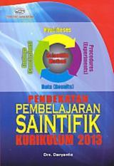 Toko Pendekatan Pembelajaran Saintifik Kurikulum 2013 Daryanto Buku Pe Lengkap Di Dki Jakarta