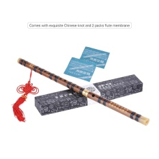 Spesifikasi Pluggable Pahit Seruling Bambu Dizi Tradisional Handmade Musik Cina Woodwind Instrumen Kunci G Studi Tingkat Kinerja Profesional Intl Lengkap