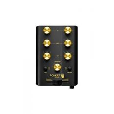 Pokket Mixer Mobile Mini DJ Mixer-Speaker-Kemasan Ritel-Hitam Goldstar-Intl