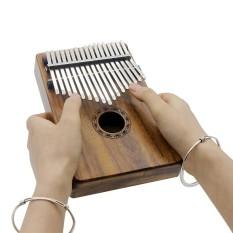 Jual Portable 17 Kunci Kalimba Mbira Pocket Thumb Piano Solid Acacia Alat Musik Hadiah Untuk Pecinta Musik Siswa Pemula Intl Irin Ori