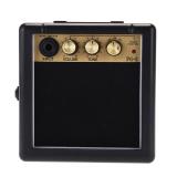 Beli Mini Portabel Pembicara Speaker Amplifier Penguat Gitar Listrik 3 Watt Hitam Dan Emas Tiongkok