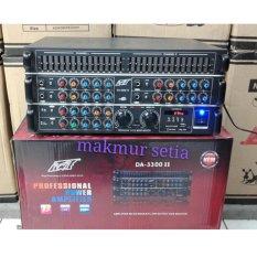Jual Power Mixer Pewie 6 Channel Da 3300Ii Murah Dki Jakarta