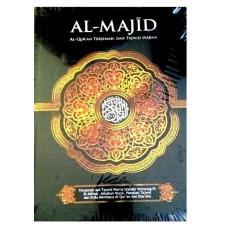 Pustaka Al Fatih Al Quran Terjemah dan Tajwid Warna Al Majid A5 - Merah - Alquran Ukuran Sedang