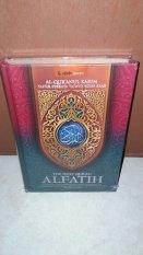 Pustaka Al Fatih Al Quran Terjemahan Dengan Tafsir Perkata Al-Fatih - Hijau Gradasi - Alquran Ukuran Sedang