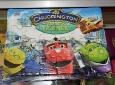 Puzzle / Puzle / Pazel Chuggington, kreta - belajar mengasah otak anak