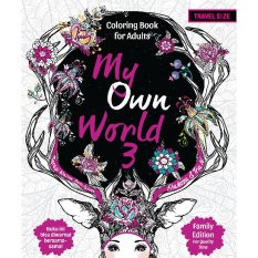 Renebook - My Own World 3 Family Edition: Coloring Book for Adults (Travel Size) - Soft Cover