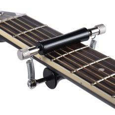 Beli Rolling Gitar Capo Glider Mudah Tergelincir Atas Bawah Untuk Folk Akustik Klasik Gitar Internasional Seken