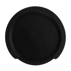 Silicone Acoustic Classic Guitar Feedback Buster Sound Hole Buffer(Black)-38-39in - intl