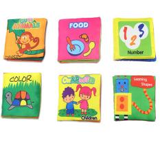 Review Buku Kain Lembut Pengembangan Kecerdasan Anak Bayi Anak Belajar Bentuk Nomor Lucu Karakter Binatang Warna Makanan Mengetahui Buku Buku Kain Yang Tenang International Hong Kong Sar Tiongkok