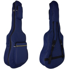 Softcase Gitar Sarung Gitar Tas Gitar Akustik Jumbo - Navy By Toserba Musik.