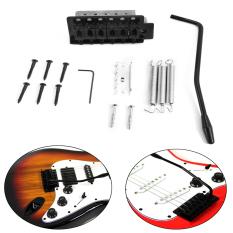 Beli Stratocaster Mengetik Tremolo Gitar Vibrato Unit Komponen Jembatan Penuh Kit St Hitam Baru Lengkap