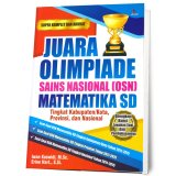 Suka Buku Juara Olimpiade Sains Nasional Osn Matematika Sd Diskon Akhir Tahun