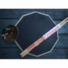Jual Szs Drum Pad Economist 11 Inch Bonus Vcd Lesson Branded Original