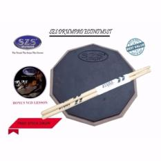 Diskon Szs Drum Pad Economist 11 Inch Bonus Vcd Lesson