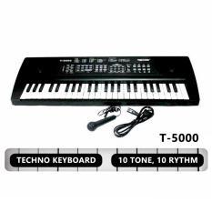 Techno Keyboard T-5000 By Cahaya Sport.