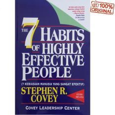 Jual The 7 Habits Of Highly Effective People 7 Kebiasaan Manusia Yang Sangat Efektif Stephen R Covey Di Riau Islands