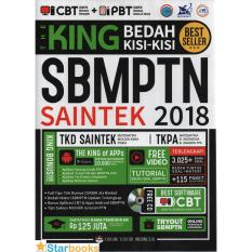 The King SBMPTN Saintek 2018 + CD Bestseller!