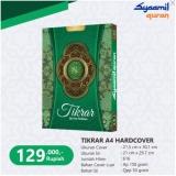 Toko Tikrar A4 Hard Cover Syaamil Quran