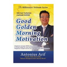 Promo Titik Media Good Golden Morning Motivation Murah