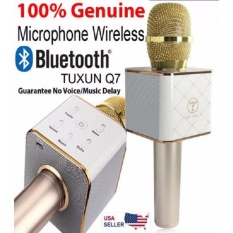 Beli Tuxun Q7 K078 Portable Wireless Karaoke Mic Bluetooth 4 Random
