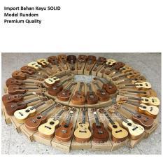 Toko Ukulele Import Sopran 21 Model Rundom Kayu Solid Suara Di Jamin Termurah Di Banten