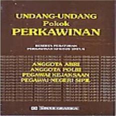 UNDANG-UNDANG POKOK PERKAWINAN - BUKU UNDANG-UNDANG B56